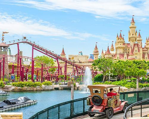5 Days. Singapore 4* ... with One Day Pass to Universal Studio