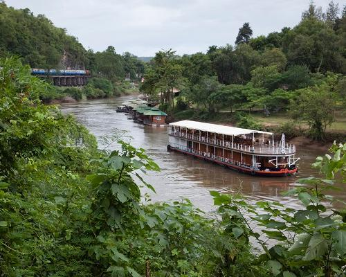 "Bangkok, Flusskreuzfahrt ""River Kwai"" & Baden in Khao Lak"