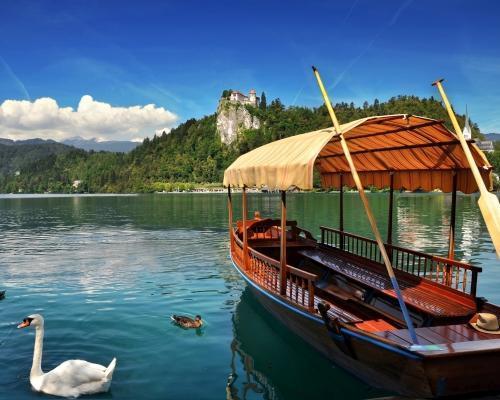 Bled, Szlovénia: hotel, egyéni utazással