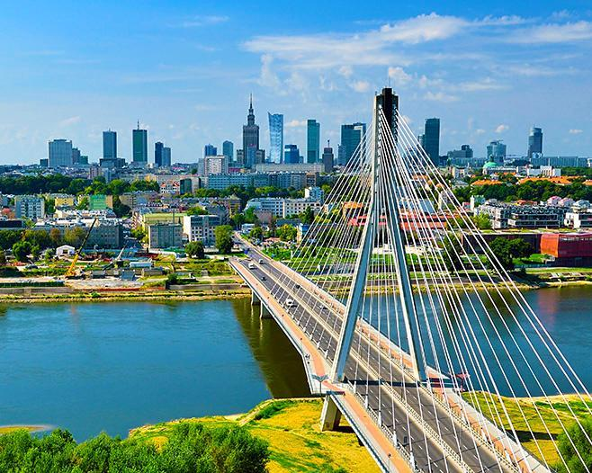 4 Days. Warsaw 3* (with Ryanair from Amman)