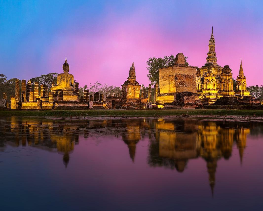 "Bangkok, Rundreise ""Siams Königsstädte (Goldenes Dreieck)"" & Koh Yao Yai"