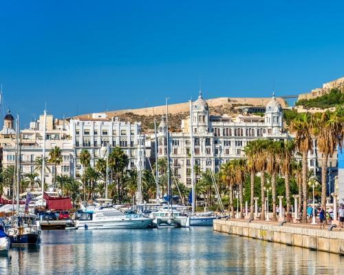 Egy hét Alicante budapesti indulással, szállással