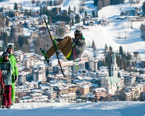 Esquí en Cortina d'Ampezzo