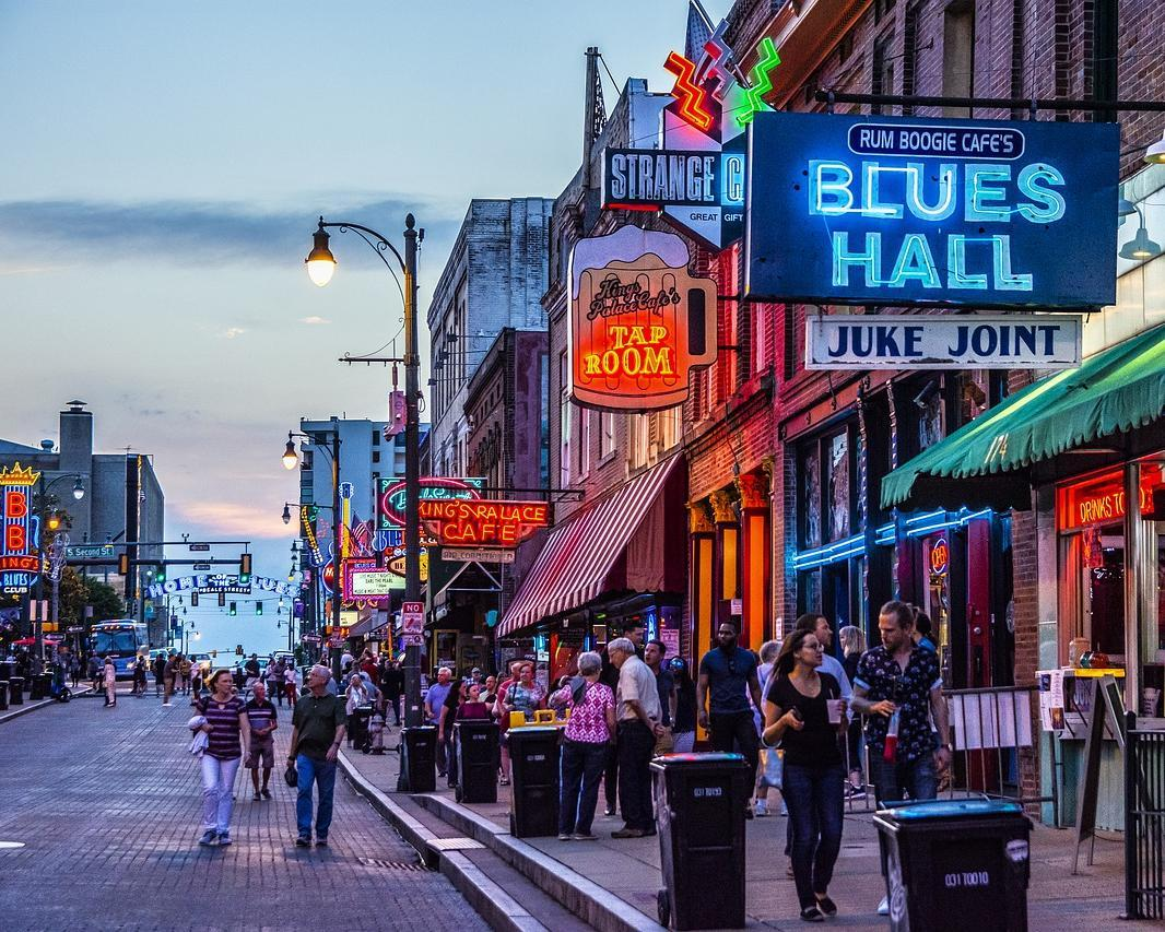 Blues, Jazz & Rock'n'Roll - Memphis & New Orleans