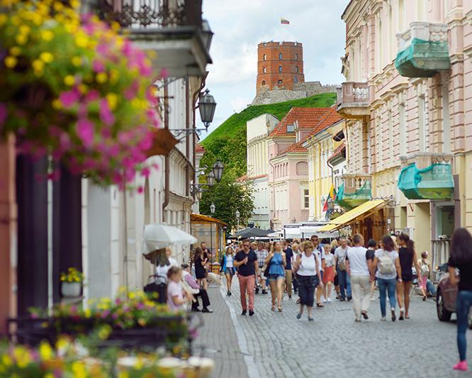 8 Days. Vilnius 3* - Lithuania (with Ryanair from Amman)