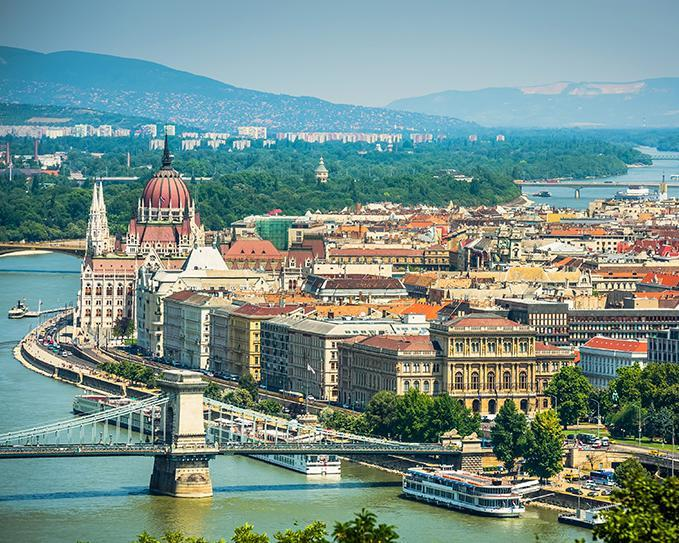 8 Days. Budapest 3* (with Ryanair from Amman)