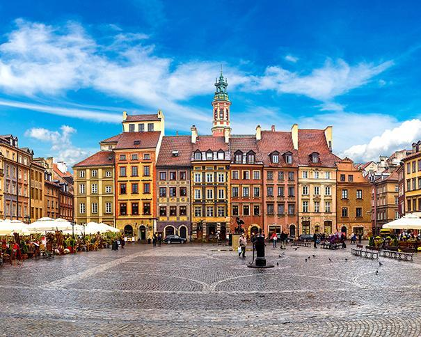 8 Days. Warsaw 4* from Amman with Ryanair