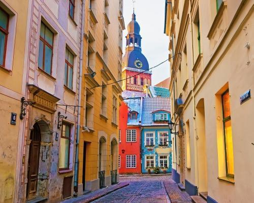 Riga, Lettország: utazás repülővel és 4 csillagos hotel reggelivel